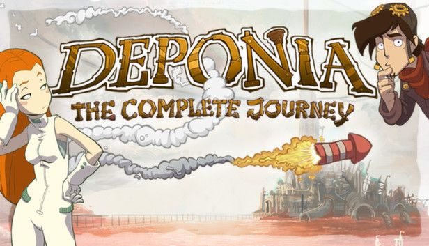Deponia The Complete Journey - Free Epic Games Game