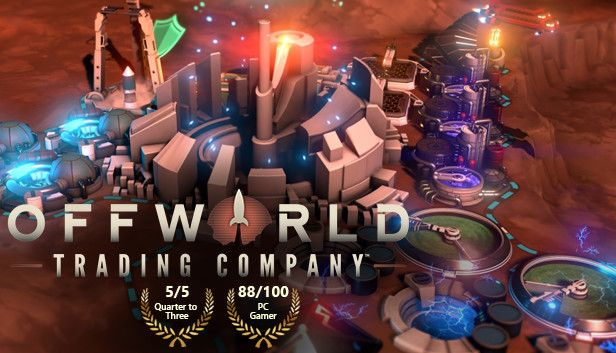 Offworld Trading Company - Free Epic Games Game