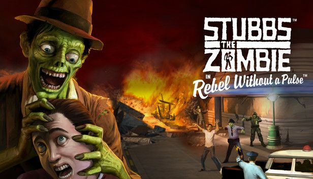 Stubbs the Zombie in Rebel Without a Pulse - Free Epic Games Game